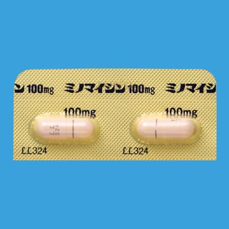 ニキビ薬ミノマイシン